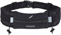 Сумка на пояс для бега Fitletic Ultimate I Running Belt Чёрная (N06-01)