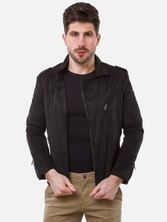 Куртка из искусственной замши Remix 2560 L Черная (2950006499507)