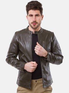 Куртка из искусственной кожи Remix 2671 M Коричневая (2950006499347)