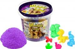 Кинетический песок Strateg Magic sand в ведре 1 кг Фиолетового цвета (4820175997778)