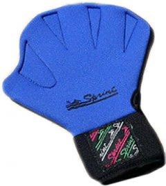 Перчатки для аквааэробики Sprint Aquatics Sprint с застежкой липучкой M Синие (SA/783/BL-0M-00)