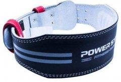 Пояс кожаный для тяжелой атлетики Power System Dedication PS-3260 S Black/Red (PS-3260RD-2-S)