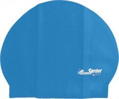 Шапочка для плавания Sprint Aquatics Latex Cap Голубая (SA/300/NV-00-00)