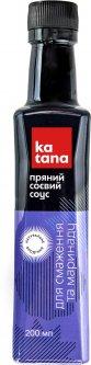 Соус соевый Katana Пряный для жарки и маринада 200 мл (4820179361605)