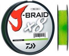 Шнур Daiwa J-Braid X8 0.13 мм - 150 м chartreuse (12750-013)