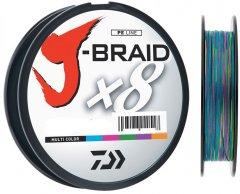 Шнур Daiwa J-Braid X8 0.10 мм - 150 м мulti Color (12755-010)