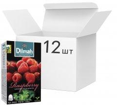 Упаковка чая Dilmah черного Малина 12 пачек по 20 пакетиков (19312631142218)