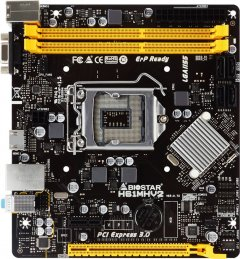 Материнская плата Biostar H61MHV2 (s1155, Intel H61, PCI-Ex16)