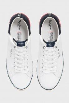 Чоловічі білі кеди MARTON LOW Pepe Jeans 43 PMS30632
