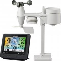 Метеостанция Bresser Weather Center Wi-Fi Color 5-in-1 Profi Sensor Black