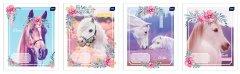 Набор тетрадей ученических Interdruk Premium I Love My Pony 8 шт (по 2 каждого дизайна) А5+ в клетку 12 листов (270153-8)