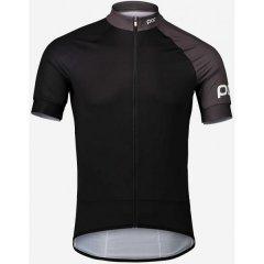 Велоджерси POC Essential Road Jersey M Чорний-Сірий