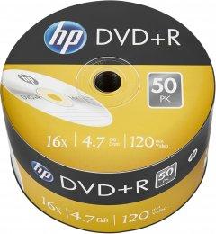 HP DVD+R 4.7 GB 16X 50 шт (69305)