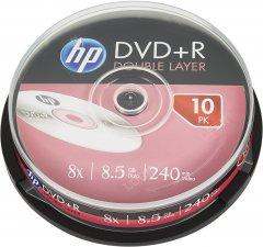 HP DVD+R DL 8.5 GB 8X 10 шт (69309)