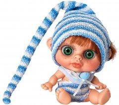 Кукла пупс Berjuan Baby Castano с запахом ванили 14 см (BJN-24101)