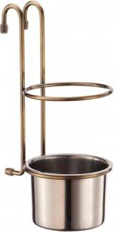 Стакан для столовых приборов на рейлинг Lemax Бронза (YJ-G017 E BA)