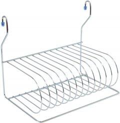 Сушка для посуды навесная Lemax для рейлинга Хром (MX-076)
