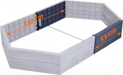 Удлинитель для высокой грядки Garantia Graf Ergo 2 шт (645101)