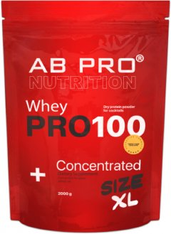 Протеин AB PRO PRO 100 Whey Concentrated 2000 г Манго-апельсин (PRO2000ABMO79)