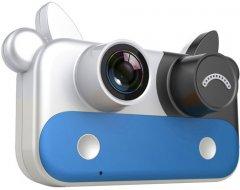 Цифровой детский фотоаппарат XoKo KVR-050 Cow blue (KVR-050-BL) (9869201542006)