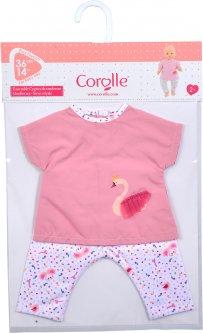 Набор одежды - блузка и штанишки Corolle Королевский Лебедь для кукол 36 см (9000140620)