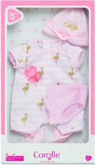 Набор одежды для пупса Corolle Фламинго для кукол 36 см (9000140550)