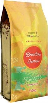 Кофе в зернах Arabica Specialty coffee Summer in Brazil Бразилия Желтый бурбон 1 кг (4820157910276)
