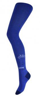 Колготки дитячі АфРика з велосипедом колір джинс розмір 18 (116-122 см) (М11В302К/18)