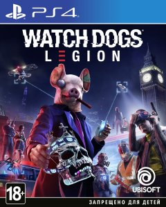 Игра Watch Dogs Legion для PS4 (Blu-ray диск, Russian version)