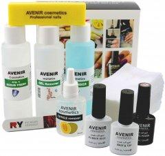 Стартовый набор Avenir Cosmetics для покрытия гель-лаком (4820440814304)