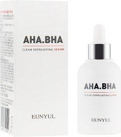 Сыворотка для лица Сыворотка для обновления кожи лица с кислотами Eunyul AHA BHA Clean Exfoliating Serum 50 мл (8809435405020)