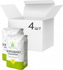Упаковка муки пшеничной Терра 1 кг х 4 шт (4820015737748)