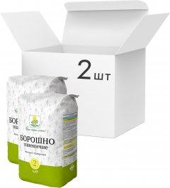 Упаковка муки пшеничной Терра 2 кг х 2 шт (4820015737755)