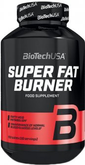 Жиросжигатель Biotech Super Fat Burner 120 таблеток (5999076236244)