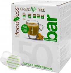 Кофейный капсульный напиток Foodness Женшень с кофе 50 капсул Dolce Gusto по 14 г (8031848005768)