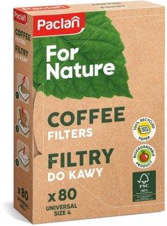 Фильтры для кофе Paclan №4 80 шт (5900942150052)