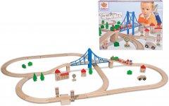 Игровой набор Eichhorn Железная дорога. Путешествие через мост 55 элементов 500 см (100001264)