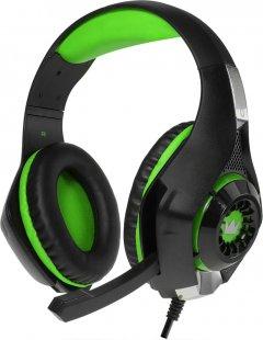 Наушники Crown CMGH-102T USB Green