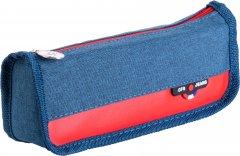 Пенал мягкий Cool For School прямоугольный 1 отделение Синий (CF86688-02)