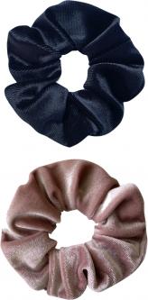 Набор резинок для волос Red Point 2 шт Велюр (черный+пудра) (ВР.01.Т.80.13.002)