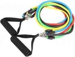 Набор трубчатых эспандеров для фитнеса Reystyle 5 шт (2000992400442)