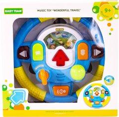 Игрушка музыкальная Baby Team Руль (8634) (242944789)