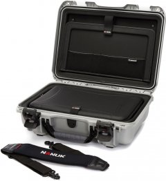 Ударопрочный кейс для ноутбука Nanuk 923 with Laptop Kit and Strap Silver (923-LK05)