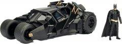 Машина металлическая Jada Бэтмен (2008) Бэтмобиль Темного Рыцаря + фигурка Бэтмена 1:24 (253215005) (4006333065033)