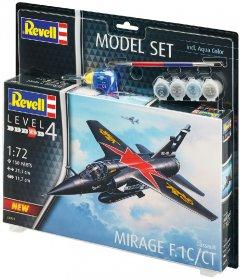 Сборная модель Revell Набор истребитель Дассо «Мираж» F1. Масштаб 1:72 (RVL-64971) (4009803649719)
