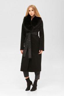 Пальто Mila Nova ПВ-192в 46 Черное (mila2000000052274)