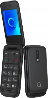 Мобильный телефон Alcatel 2053 Dual SIM Volcano Black (2053D-2AALUA1)