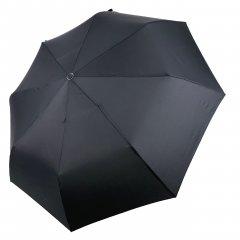Мужской облегченный механический зонт Susino 8 спиц анти-ветер Черный (ЗТ3403в-1)