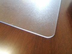 """Гибкое прямоугольное покрытие для стола Mindo """"Мягкое стекло"""" 60 х 120 х 0.15 см Матовое (md7021)"""