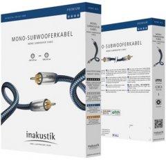 Кабель Inakustik Premium Audio Mono SUB 2.0 м (408021)